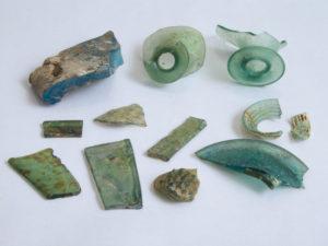 Археологические находки с Охтинского мыса