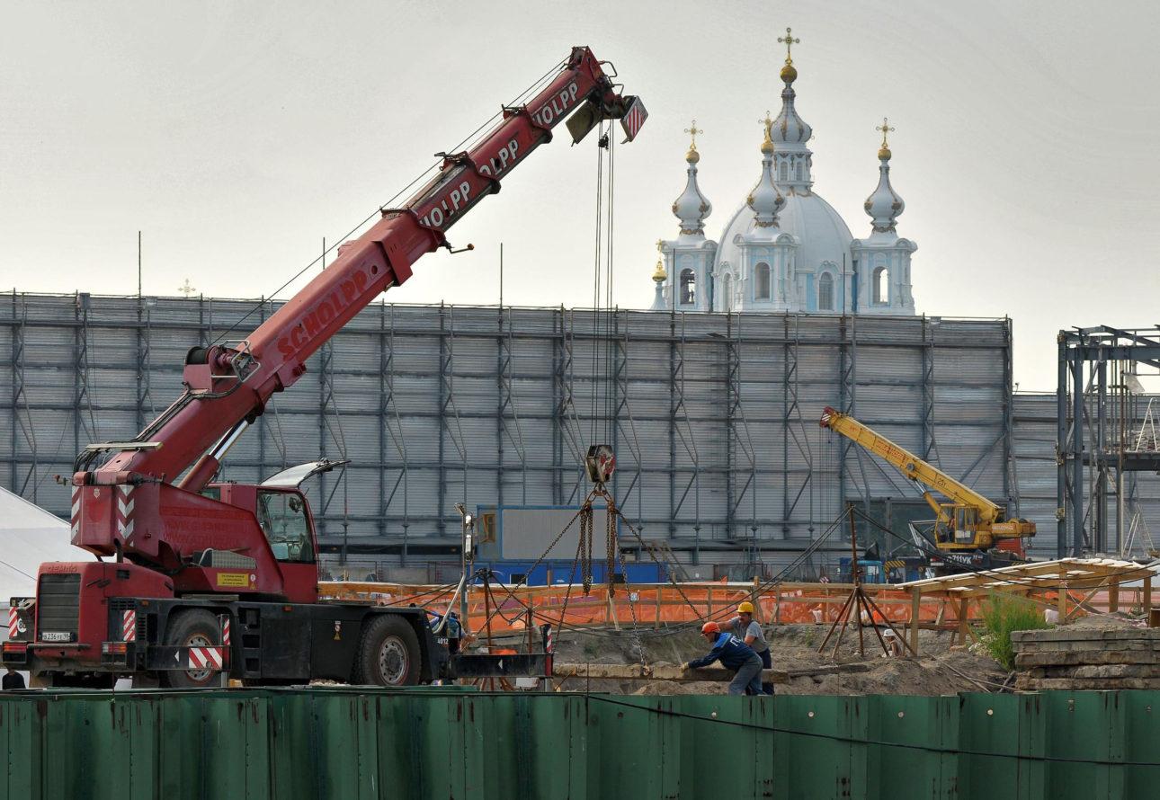 """Деловой Петербург: Ниен–шанс: как решение президента изменит проект """"Газпрома"""" на Охтинском мысу"""