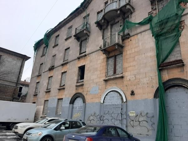 заброшенный квартал на Магнитогорской ул.