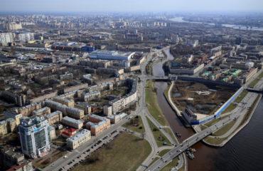 Интерфакс: Суд в Петербурге временно запретил работы на Охтинском мысе