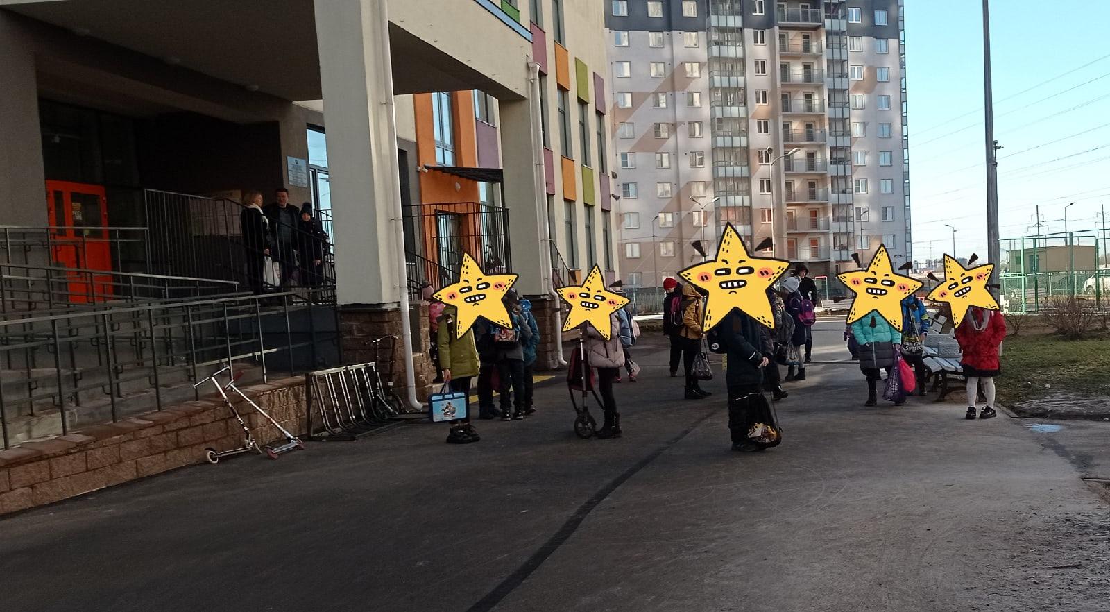 Школа Новая Охта