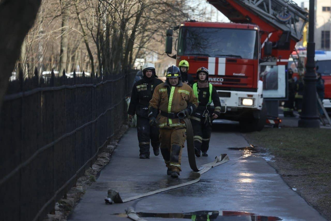пожар на Гранитной улице